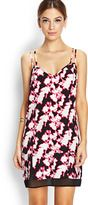 FOREVER 21 Abstract Floral Shift Dress