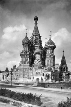 St. Basil's Cathedral, Moscow of the 1930s