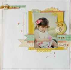 Challenge Sundays-** Chic Tags- delightful paper tag **