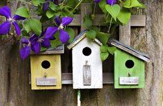 This Bird Houses Doormat by Esschert Design is perfect! Bird House Plans, Bird House Kits, Bird Houses Painted, Bird Houses Diy, Kits Pour La Maison, Homemade Bird Houses, Growing Herbs Indoors, Birdhouse Designs, Esschert Design