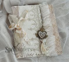 handmade album by designer Judy Hayes | Spellbinders new A Gilded Life products now sold at @J O-Ann Fabric and Craft Stores