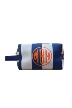 This is a great bag for make-up or to throw within your beach bag! For monograms, please email your 2-3 letters as you would like them to appear from left to right and COLOR choice to stylist@shoptiques.com. All monogram items are final sale. Allow 1 week for shipping!    Measures: 7.5 x 4.6 x 3.8 inches   Monogram Cosmetic Case by Highpoint Home. Bags - Cosmetic Pouches Rhode Island