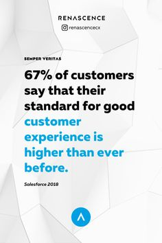Tethered to their smartphones and accustomed to nonstop innovation, today's customers are more informed than their predecessors. In other words, you have no room to let them down. - Customer experience data, customer experience insights, customer experience data,  customer experience analytics, research paper, customer service insights, customer service data, customer service research - #customerexperience #cx #ux #userexperience #insights #infographics #cxdata #renascencecx Customer Experience, User Experience, Customer Service, Rooms To Let, Research Paper, Infographics, Insight, Innovation, Let It Be