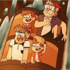 Reverse Gravity Falls, Gravity Falls Funny, Gravity Falls Comics, Reverse Falls, Mi Little Pony, Dipper Y Mabel, Fall Memes, Disney And Dreamworks, Disney Xd