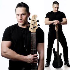 Goran Vujic  professional bassist   picture by :  Frank Lothar Lange   © Copyright : Frank Lothar Lange www.goranvujic.com