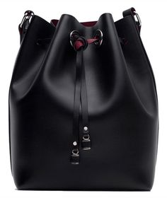 Zara Bucket Bag | Add a little edge to your closet with these sophisticated pieces.