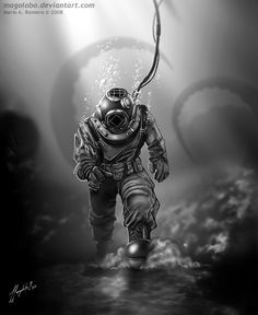 Art for DIBUJARTE S3 Magazine, issue 33. Section Magolobo´s tutorials On this lesson I talk about drawing undersea backgrounds, some of those are really easy to make if you consider blur to re...