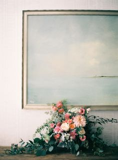 This Cape Cod affair is filled with whimsical blooms, delicate shades of pink, and perfectly and rustic touches. Floral Wedding, Wedding Flowers, Wedding Bouquet, Wedding Decor, Wedding Ideas, Cape Cod Wedding, Vases, Decoration, Beautiful Flowers