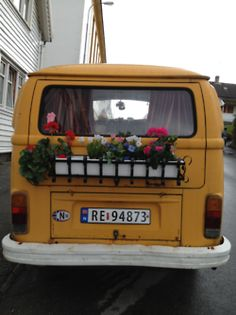 take your garden with you!!,,,How does your garden grow? On the back of my van of course. www.dirtygirlfarm.com