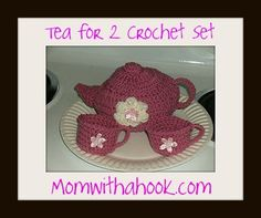 Tea set--free pattern