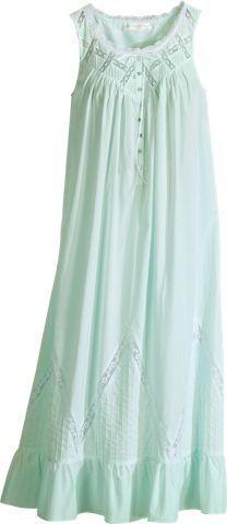 Eileen West Moonlight Sonata Long Cotton Nightgown
