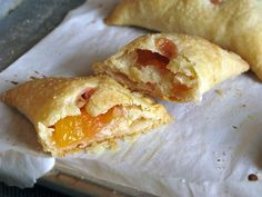 peach ginger hand pies..summer served up in individual servings..loving the hand pie craze