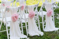 """$8.99 Sale Price -  Material: Chiffon Color: White 1 Qty: 5 Sashes  Length: 78"""" Item Width: 22"""" For sashes only, does not include any other decorations"""