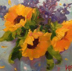 DPW Fine Art Friendly Auctions - Sunshine delight by Krista Eaton