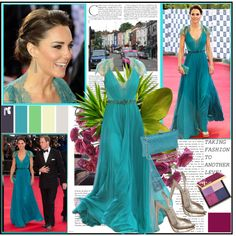 Style of Kate Middleton, created by lidia-solymosi on Polyvore