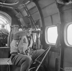 An observer onboard a Hudson of Sqn during routine ice patrol over the Denmark Strait between Iceland and Greenland, May Range Rover Sport, Royal Air Force, Sunderland, World War Two, Ww2, Boats, Coastal, Composition, Military