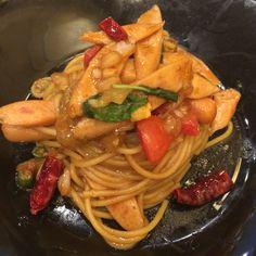 Spaghetti, Yummy Food, Ethnic Recipes, Delicious Food, Noodle
