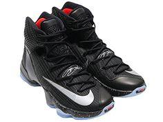 7797085bc07ac Men s Nike Lebron 13 Elite Basketball Shoes Black 831923-... https