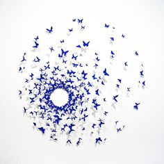 New Orleans Art Gallery All Aflutter Over Paul Villinski's Butterflies. #butterflies #sculpture