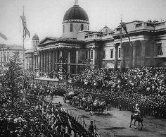 Queen Victoria's Diamond Jubilee Celebrations in London England in 1897
