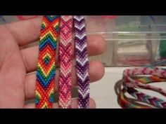 DIY Friendship Bracelet | Striped or Solid - YouTube