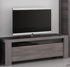 S jour singapour on pinterest buffet led and tables for Meuble tv hauteur 80