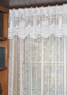 Lighthouse Lace Valance White by Heritage Lace