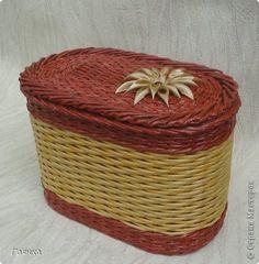 Поделка изделие Плетение Кошкин дом и не только Трубочки бумажные фото 7