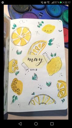 Picked out first lemons of the season, The little tree is loaded. Yum, lots of lemon cordial to be made (Kym) Bullet Journal Hacks, Bullet Journal Notebook, Bullet Journal Themes, Bullet Journal Inspiration, Bullet Journals, Journal Covers, Journal Pages, My Journal, Bullet Journal Calendrier