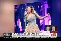 "Gloria Trevi Presenta en California con éxito ""El Amor World Tour"","