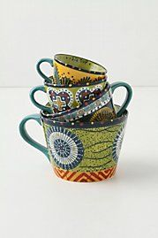 Anthropologie - Austin's Flora Measuring Cups