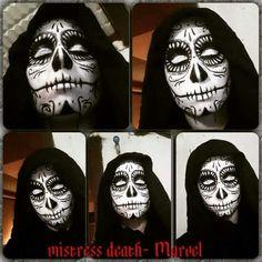 Makeup Marvel Deadpool game Mistress Death Death