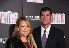 Mariah Carey & James Packer Make It Red-Carpet Official at 'Intern' Premiere