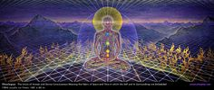 Theologue by Alex Grey. One of my favorite works of Alex Grey Alex Grey, Alex Gray Art, Grey Art, Hall Of Mirrors, Flat Earth, Process Art, Visionary Art, Sacred Art, American Artists