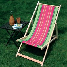 Need to find a deck chair and make it a new seat from one of my wrap designs. That would be awesome.