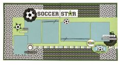 Soccer Start 2 Page Kit featuring the Goal! line from Doodlebug Design #soccerpages #scrapbooking #pagekits #soccerpagekit #doodlebugdesign #memoriesunlimited