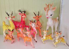 vintage reindeer! by artgoodieshome, via Flickr