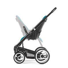 Mutsy iGO All-Inclusive-Set m. Babywanne, Fußsack u. Sonnenschirm Gestell Schwarz | online kaufen bei kids-comfort.de  #mutsy #igo #mutsyigo #pram #stroller #kinderwagen #sportwagen #kidscomfort