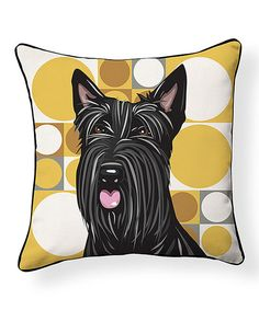 Take a look at this Scottish Terrier Throw Pillow today!