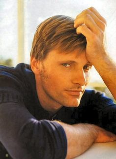 Viggo Mortenson...a gorgeous man.