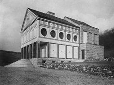 Peter Behrens - Eduard-Müller Krematorium, Hagen, 1907