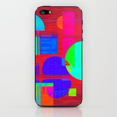 Re-Created  Building Blocks IV iPhone & iPod Skin by Robert S. Lee - $15.00