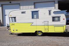 1960 Shasta Vintage Trailer by Montana Camps and Cabins, via Flickr