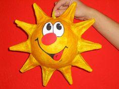 Sun balloon wallpaper paste
