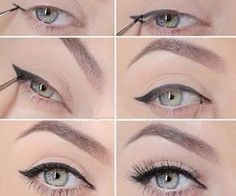 #greeneyes #blueeyes #eyemakeup #natural #eyeliner #tutorial