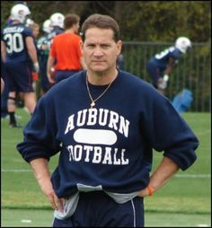 Gene Chizik...met him last night at a pediatric cancer fundraiser.  I was impressed very much by the attention he paid to the cancer kids.  He treated them like stars and it was obvious to all of us how much he cares.