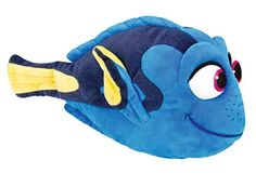 "Finding Dory 10"" Dory Plush - Re-create your favorite scenes from Finding Dory with our fish friends with the soft and loveable Dory plush Features quality, soft plush material 10 inches in size"