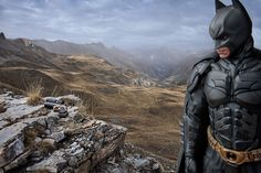 Photos of Lonely Superheroes by Benoit Lapray
