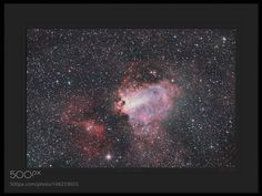 Omega Nebula in Sagittarius ( Messier 17  NGC 6618 ) - by Mike O'Day ( 500px.com/MikeODay ) by MikeODay