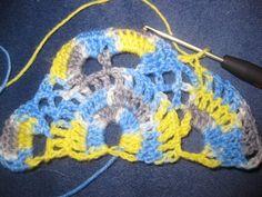 Návod na háčkovanú šatku - Klbkošopa - blog Bandana, Blanket, Crochet, Blog, Tutorials, Bandanas, Ganchillo, Blogging, Blankets